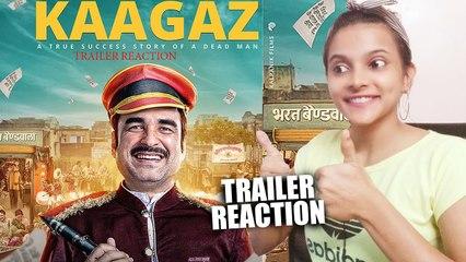 Kaagaz Trailer Reaction |  Pankaj T | Satish K |_A ZEE5 Original Film