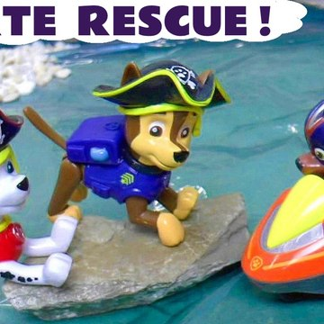 Paw Patrol Mighty Pups Charged Up Pirate Rescue with the Funny Funlings and Thomas and Friends in this Family Friendly Full Episode English Toy Story for Kids from Kid Friendly Family Channel Toy Trains 4U