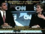 Hillary Clinton: the federal Bradley Amendment