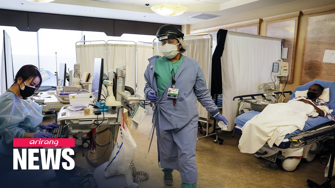 U.S. surpasses 19 million COVID-19 cases