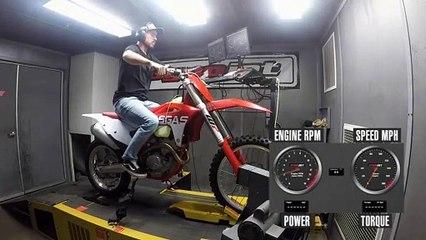 2021 GasGas EX 250F Dyno Test