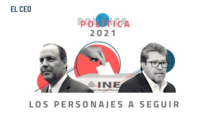 Los personajes políticos a seguir en 2021