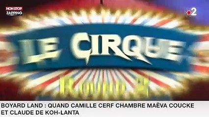 Boyard Land : Quand Camille Cerf chambre Maëva Coucke et Claude de Koh-Lanta ! (vidéo)