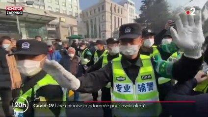Coronavirus : une journaliste chinoise condamnée à 4 ans de prison pour avoir dévoilé la situation à Wuhan (vidéo)