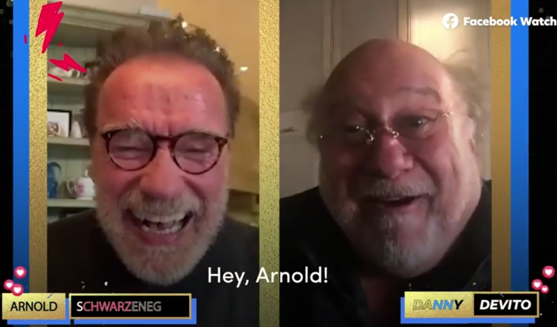Arnold Schwarzenegger And Danny Devito Reunite 32 Years After Twins Video Dailymotion