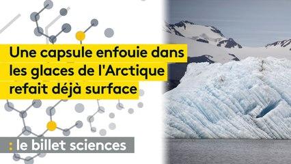 Une capsule temporelle piégée en Arctique et découverte beaucoup plus tôt que prévu