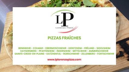 Lorenzo Pizza, pizzas fraîches, camions pizzas et kiosque à pizzas à Bennwihr.