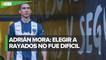Rayados presentó a Adrián Mora como nuevo refuerzo de Monterrey