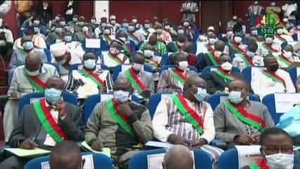 RTB / Cérémonie d'installation des députés de la 8e législature de l`'assemblée nationale