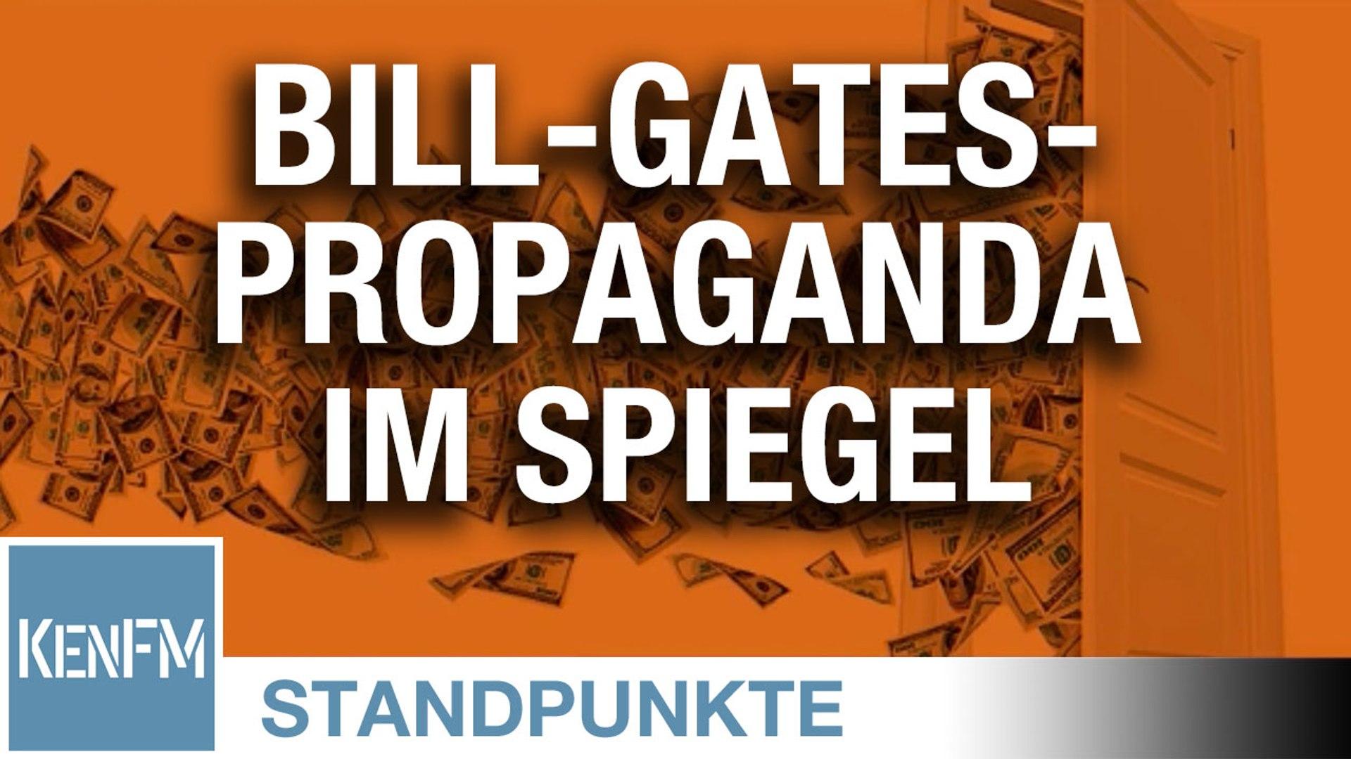 2,3-Millionenspende zahlt sich aus: Bill-Gates-Propaganda im Spiegel