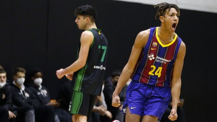 EB ANGT Valencia MVP Highlights & Interview: Michael Caicedo, U18 FC Barcelona