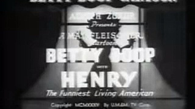 Betty Boop ep. Betty Boop With Henry (1935)