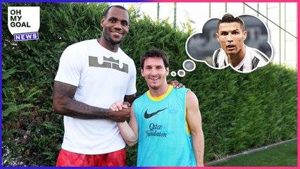 Les 4 sportifs que Lionel Messi admire le plus   Oh My Goal
