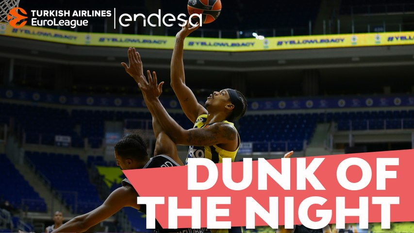 Endesa Dunk of the Night: Lorenzo Brown, Fenerbahce Beko Istanbul