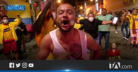 Los hinchas barcelonistas festejaron a nivel nacional