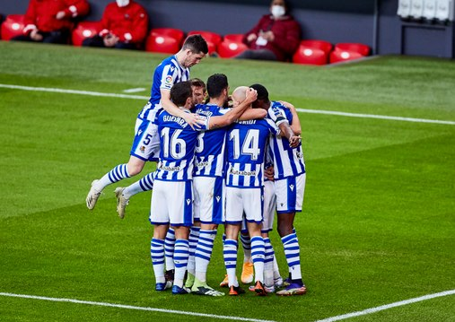 Liga : La Sociedad s'accroche au podium !