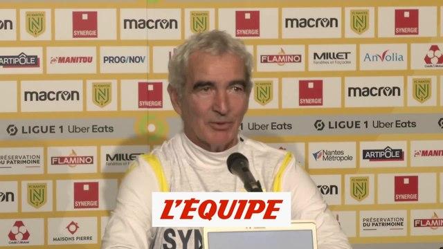 Domenech : « Touré, c'est du costaud » - Foot - L1 - Nantes