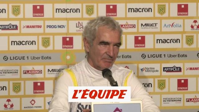 Domenech sur Kita : « Chacun a ses compétences » - Foot - L1 - Nantes