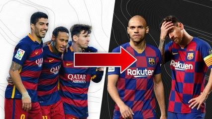 Mais qu'est-il arrivé à l'attaque du FC Barcelone ?   Oh My Goal