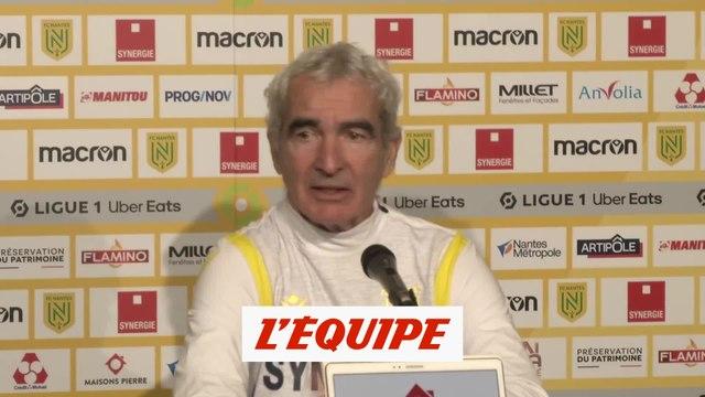 Domenech : « Je ne me suis jamais résigné à arrêter » - Foot - L1 - Nantes
