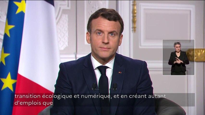 REPLAY. Nouvel An : regardez l'intégralité des vœux d'Emmanuel Macron aux Français