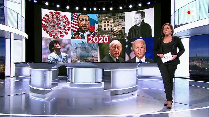 Nouvel An : rétrospective en images de l'année 2020