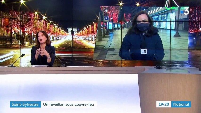 Nouvel An : Paris et Rennes réveillonnentsous couvre-feu
