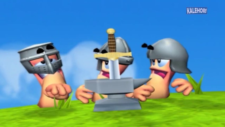 [TF2 dub] Worms Forts_ Under Siege Cutscenes
