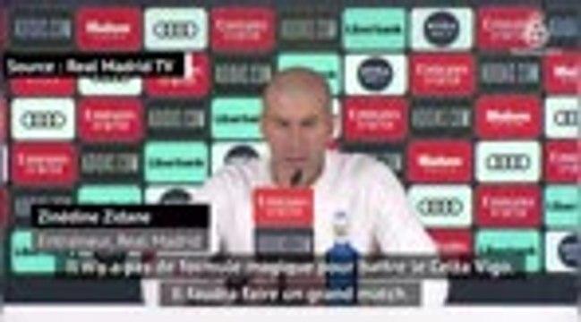 """17e j. - Zidane : """"Rien n'est facile dans cette Liga"""""""