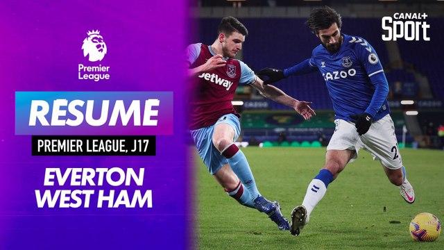 Le but d'Everton / West Ham