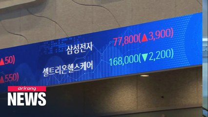 S. Korea records 2nd highest increase rate in market capitalization among G20 in 2020