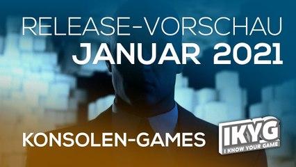 Games-Release-Vorschau - Januar 2021 - Konsole