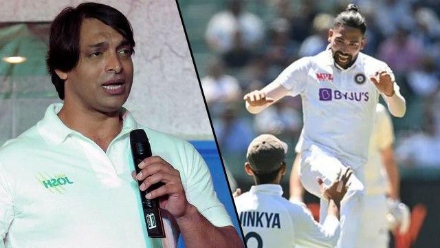 Ind vs Aus 2021 : Shoaib Akhtar Hails Team India's Dressing Room Spirit
