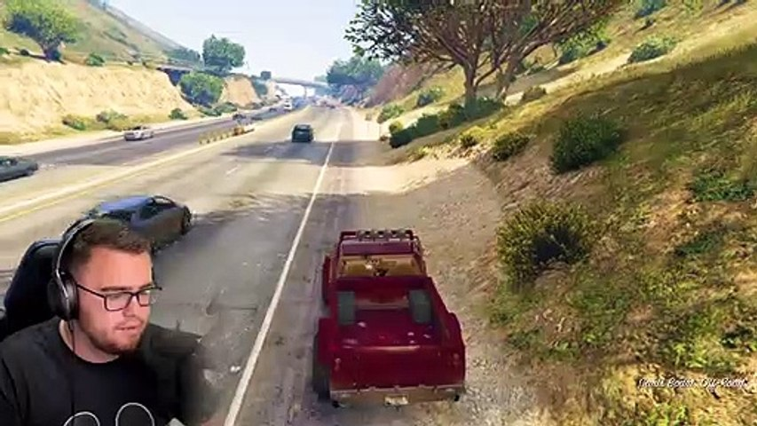 HUYG-LOSING CONTROL of FRANKLIN and HE DESTROYS EVERYTHING in GTA 5