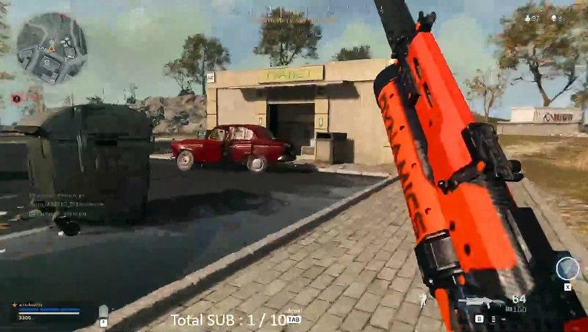 Call of Duty Warzone  Top 1 en ligne de mire