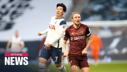 Son Heung-min scores 100th Tottenham goal in win over Leeds United