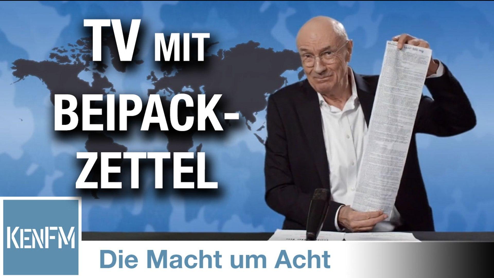 """Die Macht um Acht (69) """"TV mit Beipackzettel"""""""