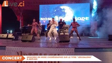 """Nomcebo en mode chorégraphie sur le titre """"jerusalema"""" à Abidjan"""