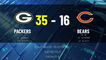 Packers @ Bears Game Recap for SUN, JAN 03 - 05:25 PM ET EST