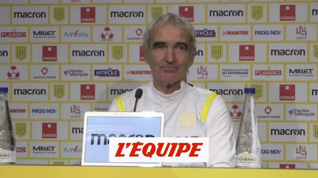Domenech : « Il faut retrouver l'ADN du club » - Foot - L1 - Nantes