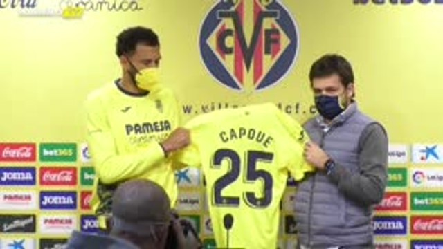 Villarreal - Capoue présenté !