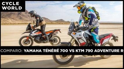 KTM 790 Adventure R vs. Yamaha Ténéré 700
