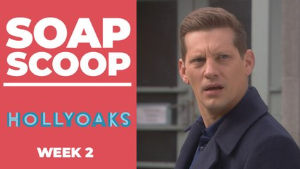 Hollyoaks Soap Scoop - George gets angry with John Paul again