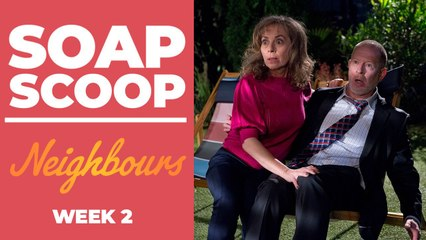 Neighbours Soap Scoop! Jane and Clive share a secret