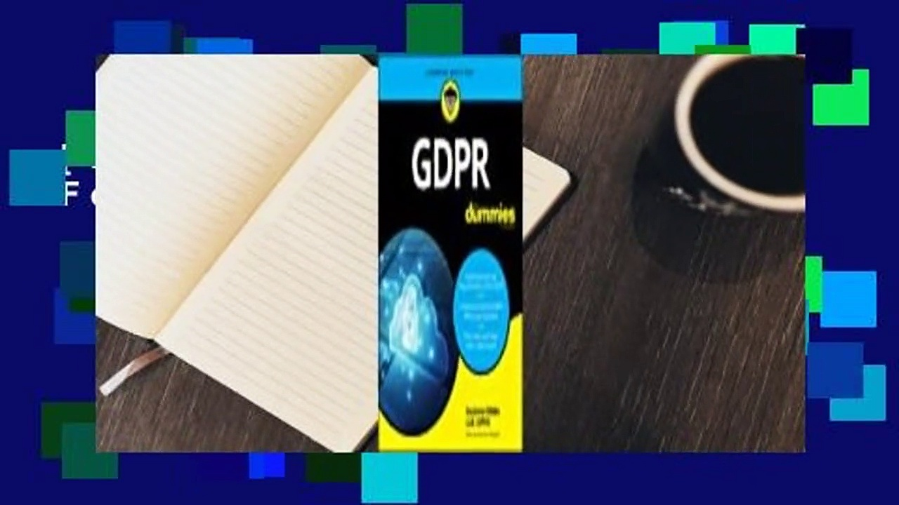 [Read] Gdpr for Dummies  For Online