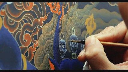 Biao Quan (表诠) Episode 01- Eric Roberts and Tibetan Thangka painting