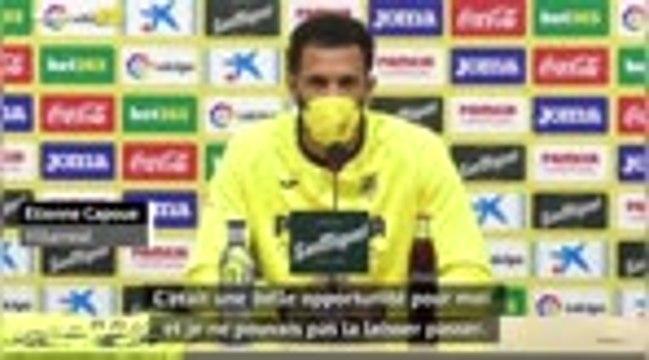 """Villarreal - Capoue : """"C'était une belle opportunité pour moi et je ne pouvais pas la laisser passer"""""""