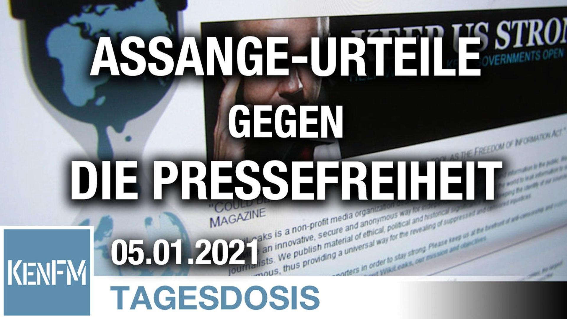 Jedes Urteil gegen Julian Assange ist eines gegen die Pressefreiheit