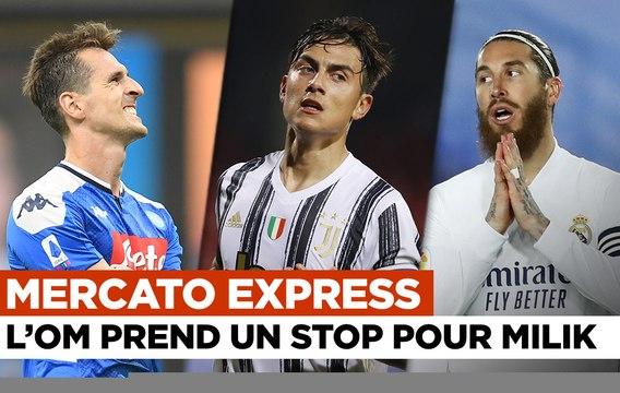 Mercato Express : Naples dit non à l'OM pour Milik