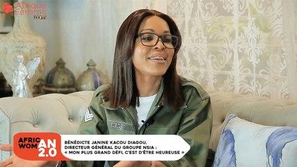 Bénédicte Janine Kacou Diagou, Directeur général du groupe NSIA : «Mon plus grand défi, c'est d'être heureuse» BON 2